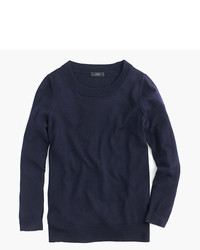 Women's Navy Crew-neck Sweaters from J.Crew | Women's Fashion