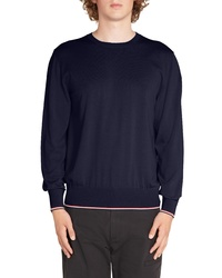 Moncler Tricot Girocollo Wool Sweater