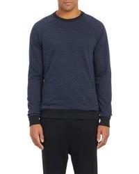 Barneys New York Westbrook Xo X Jordan Elephant Print Sweatshirt Blue