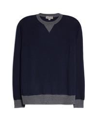 Canali Wool Crewneck Sweater