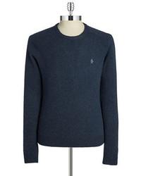 Original Penguin Wool Crewneck Sweater