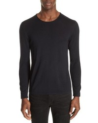 John Varvatos Collection Wool Crewneck Sweater