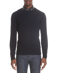 Officine Generale Wool Crewneck Sweater