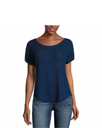 Ana Ana Short Sleeve Crew Neck T Shirt  Talls