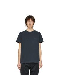 Schnaydermans Black Gart Dyed Jersey T Shirt