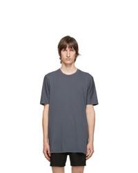 11 By Boris Bidjan Saberi Blue Cotton T Shirt