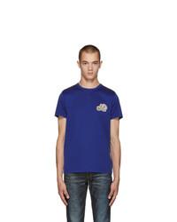 Moncler Blue Logo T Shirt
