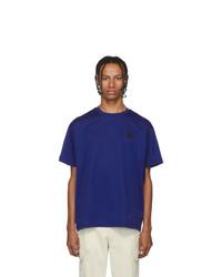 Moncler Blue Maglia T Shirt