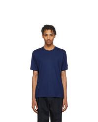 Z Zegna Blue Techmerino T Shirt