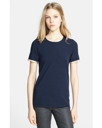 Check trim tee medium 401081