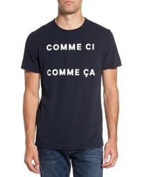 French Connection Comme Ci Comme Ca Regular Fit T Shirt