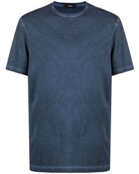 Theory Faded Crew Neck T Shirt