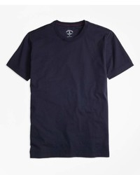 Brooks Brothers Gart Dyed Jersey Knit T Shirt