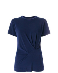 By Malene Birger Gathered Detail T Shirt