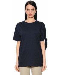J.W.Anderson Knotted Cotton Jersey T Shirt
