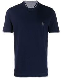 Brunello Cucinelli Layered Effect T Shirt