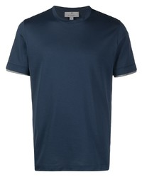 Canali Layered Short Sleeves T Shirt