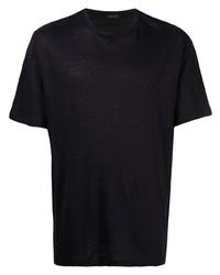 Ermenegildo Zegna Linen Short Sleeve T Shirt