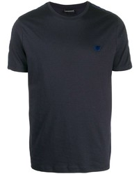 Emporio Armani Logo Patch Crew Neck T Shirt