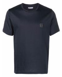 Jacob Cohen Logo Patch Round Neck T Shirt