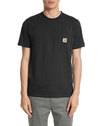 CARHARTT WORK IN PROGRESS Logo Pocket T Shirt