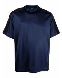 Fendi Logo Trim T Shirt