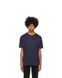 Polo Ralph Lauren Navy Classic Soft Cotton T Shirt