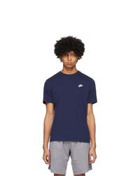 Nike Navy Club T Shirt