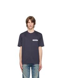 Junya Watanabe Navy Cotton Campagnolo Patch T Shirt