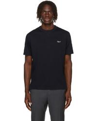 Ermenegildo Zegna Navy Cotton Essential T Shirt