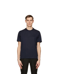 Brioni Navy Logo T Shirt