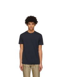 Tom Ford Navy Lyocell Jersey T Shirt