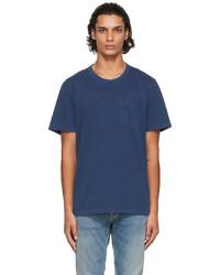 Nudie Jeans Navy One Pocket Roy T Shirt