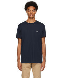 Lacoste Navy Pima Cotton T Shirt