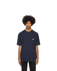 Reebok Classics Navy Pocket T Shirt