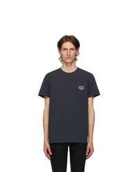 A.P.C. Navy Raymond T Shirt