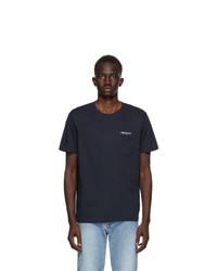 Harmony Navy Teddy T Shirt