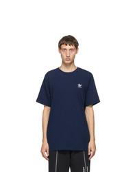 adidas Originals Navy Trefoil Essentials T Shirt