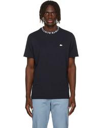 Lacoste Navy Ultra Lightweight Piqu T Shirt