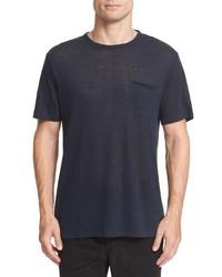 rag & bone Owen Slub Linen T Shirt