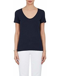 Barneys New York Pima Cotton Scoopneck T Shirt