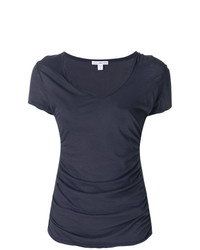 James Perse Plunge Neck T Shirt