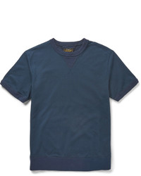 Beams Plus Slim Fit Cotton Jersey Sweatshirt