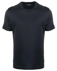 Ermenegildo Zegna Round Neck Short Sleeve T Shirt