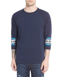 Nike Sb Nepped Three Quarter Sleeve Dri Fit T Shirt