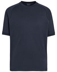 Ermenegildo Zegna Short Sleeve Cotton T Shirt