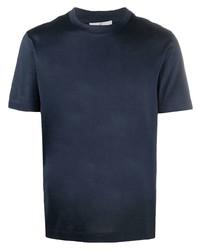 Canali Short Sleeve Cotton T Shirt