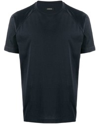 Z Zegna Short Sleeve Fitted T Shirt