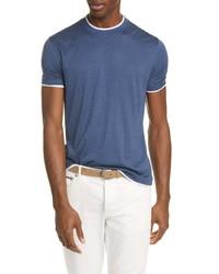 Brunello Cucinelli Silk Cotton T Shirt
