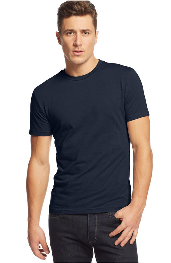 1f8688b79ad ... Alfani Slim Fit Crewneck T Shirt ...